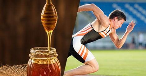 Honey Is Good for Optimum Athletic Feats