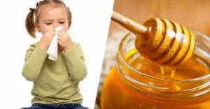 Honey is a good first aid remedy for kids' cough and cold.