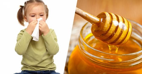 Honey is a good first aid remedy for kids' cough and cold, according to study